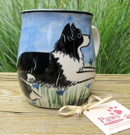 Handmade Border Collie Mug