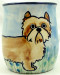 Handmade Cairn Terrier Mug