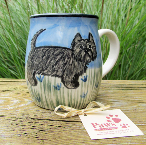 Cairn Terrier Hand-painted Mug