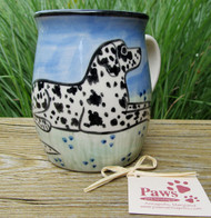 Dalmatian Mugs Hand-painted in USA