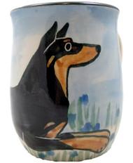 Handmade Doberman Mugs