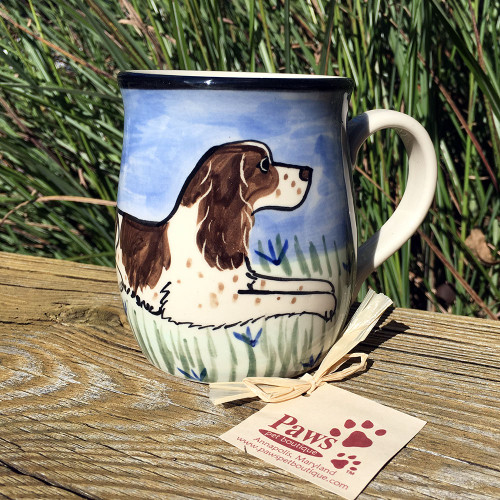 Hand-painted Springer Spaniel Mug made in USA