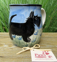 Hand-painted Scottish Terrier Mug made in USA