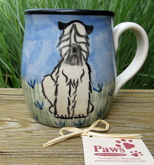 Wheaten Terrier Mugs Handmade in USA