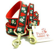 Hearts and Flowers Dog Leashes
