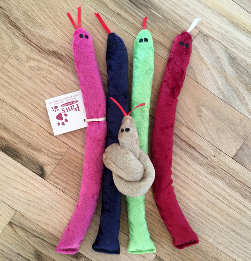 Catnip Snake Toys in Assorted Colors