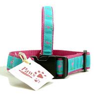 Pink Flamingo Dog Collars