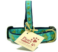 Chillin' Sea Turtles Dog Collars are proudly made in America.