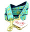 Sea Turtle Dog Leashes are American made and feature brass hardware.