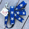 Blue Star Hemp Dog Leash Made in USA