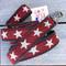 Cranberry Star Hemp Dog Leash made in USA