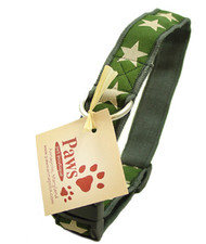 Green Star Hemp Soft Dog Collar