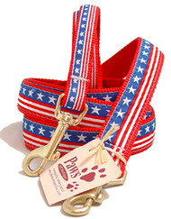 Stars & Stripes All American Dog Leashes