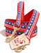 Stars and Stripes Dog Leash made in USA