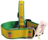 Pink Pineapple Dog Collars