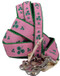Shamrocks Pink Dog Leashes are Made in America