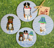 Australian Shepherds Party Animal Drink Coasters