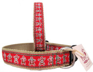 Gingerbread Holiday Dog Collars