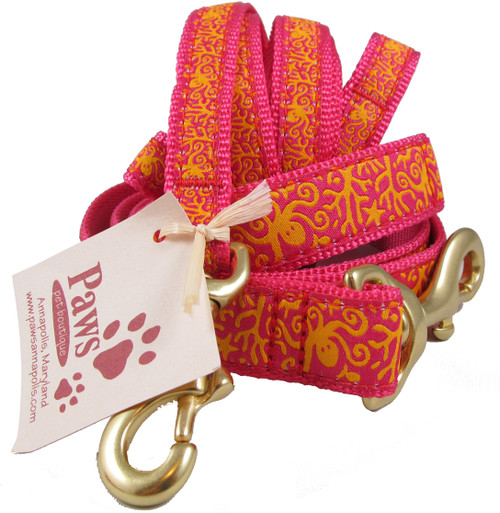 Sea Octopus Dog Leashes are proudly made in USA.