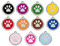 Enamel Stainless Steel ID Tags Come in a Variety of Colors!