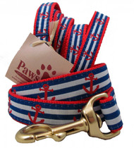 Red Anchor Striped Dog leashes complete the look for all those boating dogs out there!