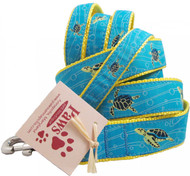 Swimming Sea Turtle Dog Leashes come in 2 widths and lengths.