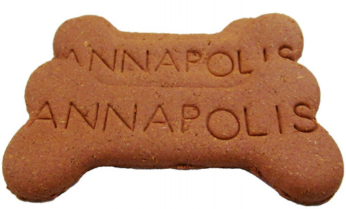 Image shows several ANNAPOLIS big bone dog treats