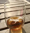 Stemless Swimming Dog Glass for a Beer