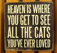 See Cats in Heaven Sign shares a little peace.