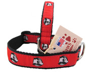 Red Natty Boh Dog Collars to brighten every day!