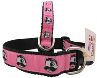 Natty Boh Dog Collars for the Girls
