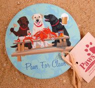 Crabs and Labs Coaster Set