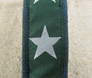 Hemp Martingales with Stars on Olive Green