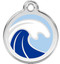 For the love of the water, catch one of these Wave Pet ID Tags