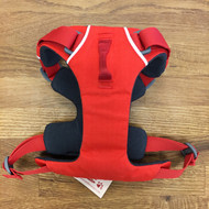 A front-ring dog harness provides more control on dog walks