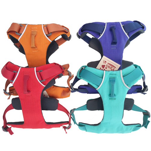Front Ring Dog Harness in 4 color options