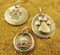 Faithful dog silver charms are slightly more petite than our other charms