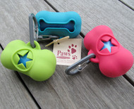Pick-up Bag Dispensers come in 3 colors.