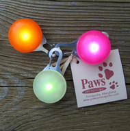 Orange, Pink or White/Disco Pet Safety Lights