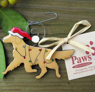 Golden Retriever Holiday Ornament made in USA