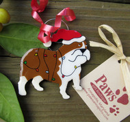 English Bulldog Ornaments made in USA