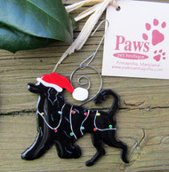Portuguese Water Dog Christmas Ornaments made in USA
