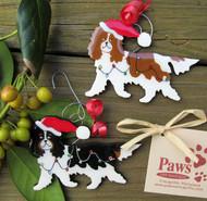 Handmade Cavalier King Charles Spaniel Christmas Ornaments