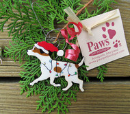 Handmade Jack Russell Terrier Christmas Ornaments