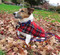 Red Plaid Dog Coats, Easy to Put On