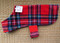 Red Plaid Fleece Dog Coats Look Great on All Dogs!