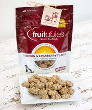 Cranberry Pumpkin Fruitable Dog Treats Made in USA