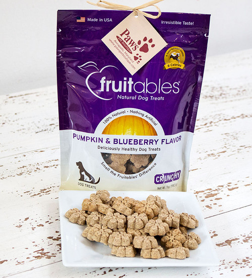 Blueberry and Pumpkin Dog Treats Free of Wheat, Corn and Soy!