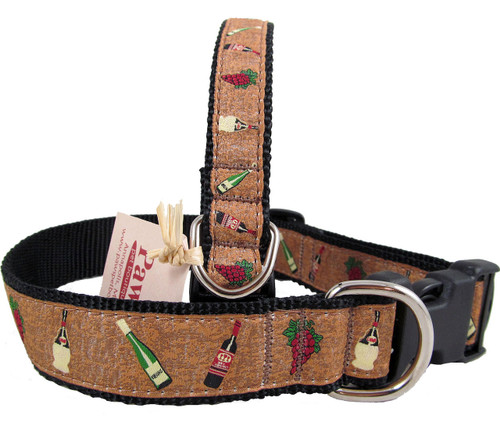 Perfect Designer Dog Collars for Winery Dogs!