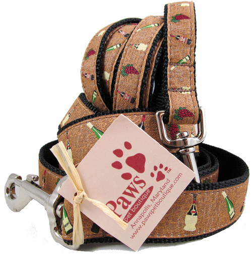 Wine Dog Leash Made in USA